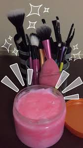 zote bar to clean your makeup brushes