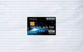 hdfc infinia credit card benefits