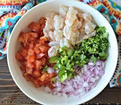Mexican-Style Shrimp Ceviche Recipe ...
