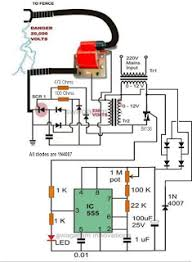 Electric Fence Circuit For Electric Fence Energizer