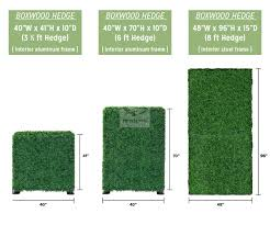 Freestanding Artificial Boxwood Hedge Natrahedge
