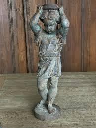 cast iron garden statue