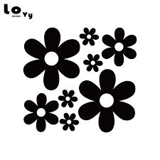 2020 Stickers Flower Ddaisy Vinyl Sticker Beautiful Flower Car Decal For Car Window Body Decoration Ca1038 From Lkmwdkawx 3 73 Dhgate Com