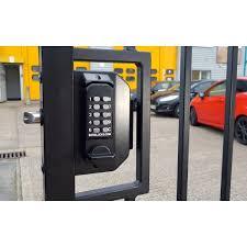 Borg Bl3030ecp Mini Gate Lock Coded Both Sides Easicode Pro Mechanical Code Locks The Fence Shop Uk