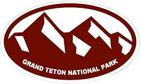 Amazon Com Cafepress Grand Teton Oval Bumper Sticker Euro Oval Car Decal Home Kitchen