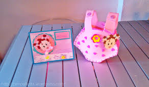Tarjetas De Invitacion Para Baby Shower O Cumpleanos Con Scrapbooking