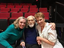 ART's Alvin Epstein says hello to Lindsay Crouse - The Boston Globe