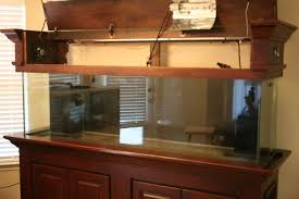 wood fish tank canopy thread show
