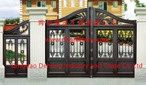 Customized House Garden Main Gate With Small Side Gate China Modern Side Metal Gate Decorative Beautiful Garden Gate Made In China Com