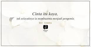 kata kata boy candra jagokata