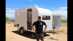 how to build a diy travel trailer