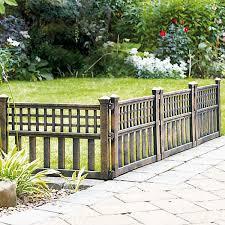 Pack Of 4 Bronze Effect Fence Panels By Kaleidoscope Kaleidoscope