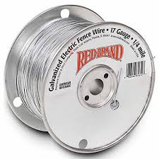 Red Brand Galvanized Electric Fence Wire 17 Gauge 1320 Ft At Tractor Supply Co