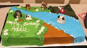 Puffin Rock Cake For Little Addie S 2nd Birthday Birthday Themes For Boys Kids Birthday Party Fall Birthday