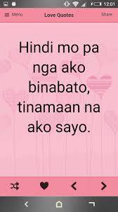 tagalog love quotes for android apk