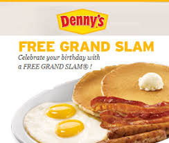 denny s free coupon grand slam meal