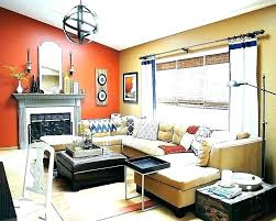 living room paint ideas with brown