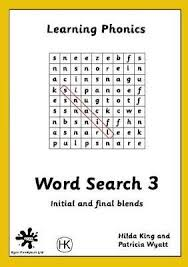 Word Search: Blends Book 3 : Hilda King : 9781873533758