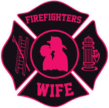 Firefighers Wife Maltese Cross Window Decal Police Fire Ems Viny Graphics Stickers Decals Dkedecals