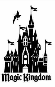 Magic Kingdom Castle Disneyworld Disney World Vinyl Decal Yeti Laptop 6 Ebay