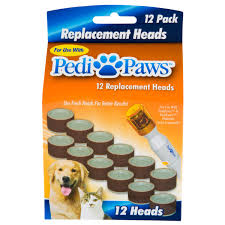 pedipaws 12 pack replacement heads as