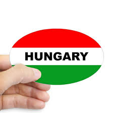 Hungary Car Sticker Sticker Oval Hungary Auto Sticker Oval Sticker By Hungary Car Sticker Cafepress