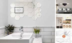 Removable Acrylic Mirror Setting Wall Sticker Mirror Wall Stickers Decal For Ho Decals Stickers Vinyl Art Ebay In 2020 Mirror Wall Stickers Acrylic Mirror Decals