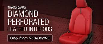 roadwire leather seats aftermarket