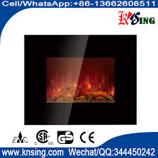 wall mount electric fireplace heater