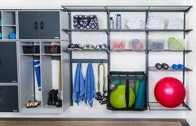 custom motorized garage storage