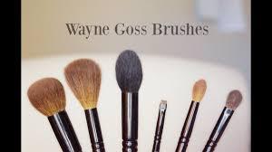 review demo wayne goss brushes
