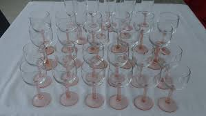 wine and 11 champagne glasses