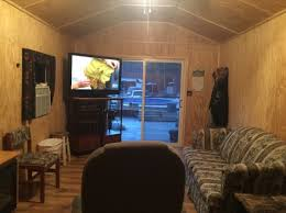 384 sq ft shed converted into tiny