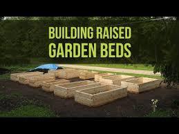 raised bed garden construction part 2