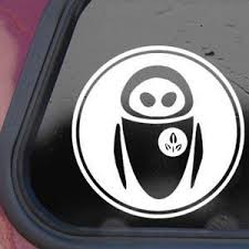 Disney White Sticker Decal Eve Wall E Ro Buy Online In Israel At Desertcart