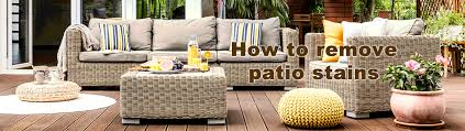 how to clean patio furniture oxiclean