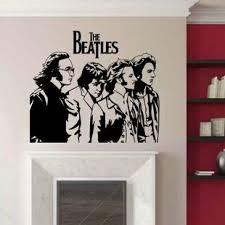 The Beatles Wall Decals Wayfair