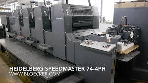 heidelberg sdmaster sm 74 4ph