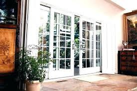 sliding doors glass exterior