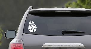 Star Wars Droid Bb8 Star Wars Sticker Car Vinyl Decal Sticker The Empire Doesn T Care