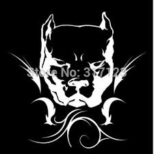 50 Pieces Lot Wholesale Pit Bull Tribal Pitbull Decal Sticker For Car Truck Suv Car Styling Decal Works Stickers Bigsticker Security Aliexpress