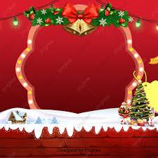 الأحمر لون مصباح خمر عيد الميلاد خلفية الحدود عيد الميلاد هدية