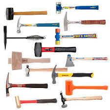 40 diffe types of hammers and their