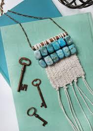 diy boho inspired woven macrame