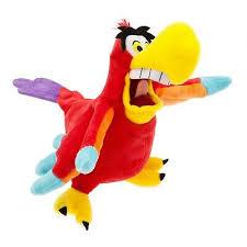 aladdin iago parrot small 34cm