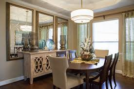dining rooms incorporating mirrors