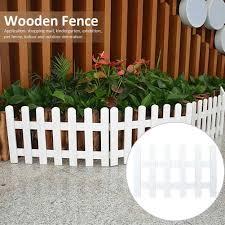 Courtyard Fence Wooden Picket Fences Miniature Fairy Garden Fence For Christmas Wedding Party Garden Home Decoration Fencing Trellis Gates Aliexpress