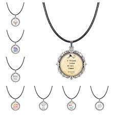 bible verse necklace christian scripture jewelry proverbs a