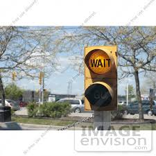 Royalty-Free Stock Photo of a wait street light | #53858 by Maria Bell |  Royalty-Free Stock Photos
