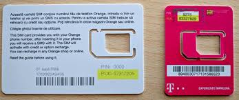 puk code of your sim card